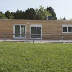 Club house modulaire - Ville de Othis